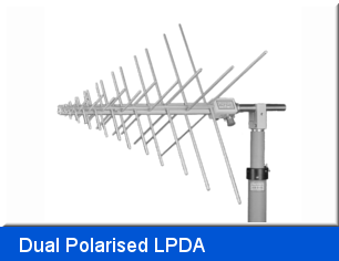 Dual Polarised LPDA